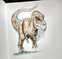 Gorgosaur sketch