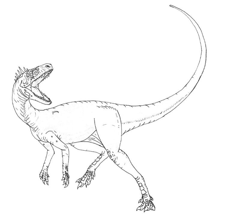 eoraptor coloring pages | Inky Herrerasaur by maniraptora on DeviantArt