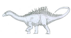 'Dinosaur of Agustin' sketch
