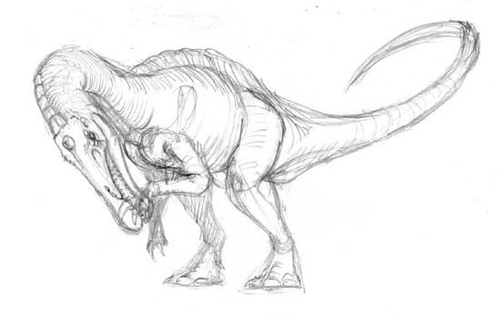 Baryonychinae-Sketch