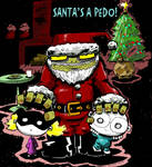 Santa's a Pedo Colored