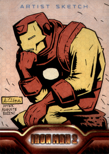 Iron Man, the Thinker by soliton