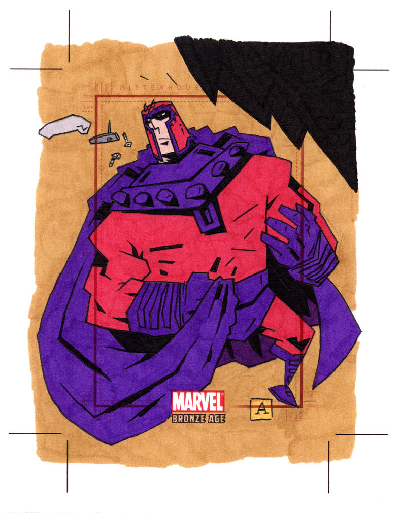 Bronze Age Magneto by soliton