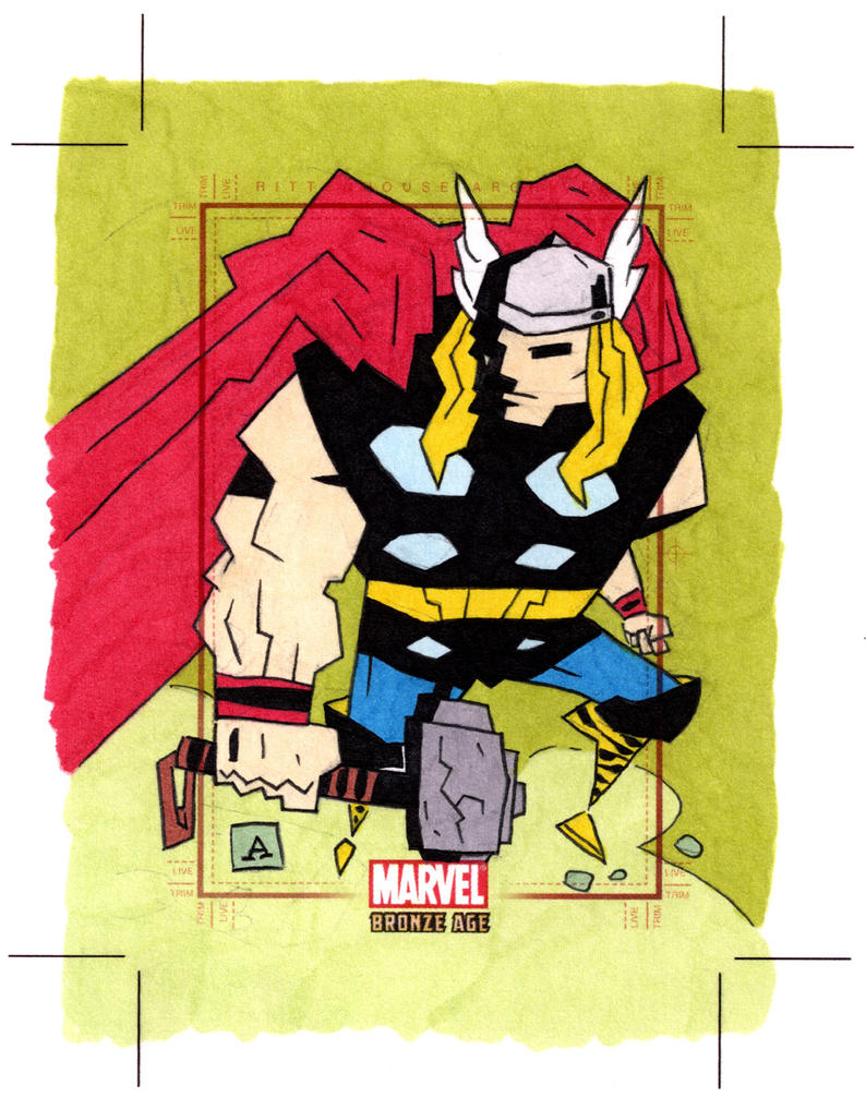 Marvel Bronze Age Thor by soliton