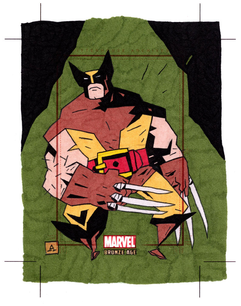 Marvel Bronze Age Wolverine by soliton