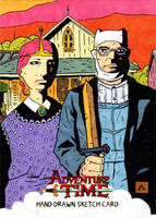American Gothic Time by soliton