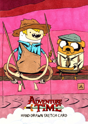 Huckleberry Finn and Jake Sawyer by soliton