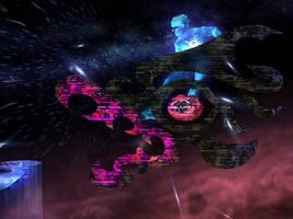 Tabuu Weapon: Subspace Dragon by PirateCommando