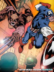 Captain America - Wolverine: Weapon Plus