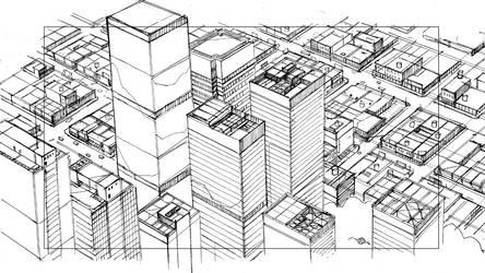 CityScape 01 by guntama