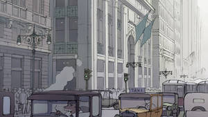 NYC street by guntama