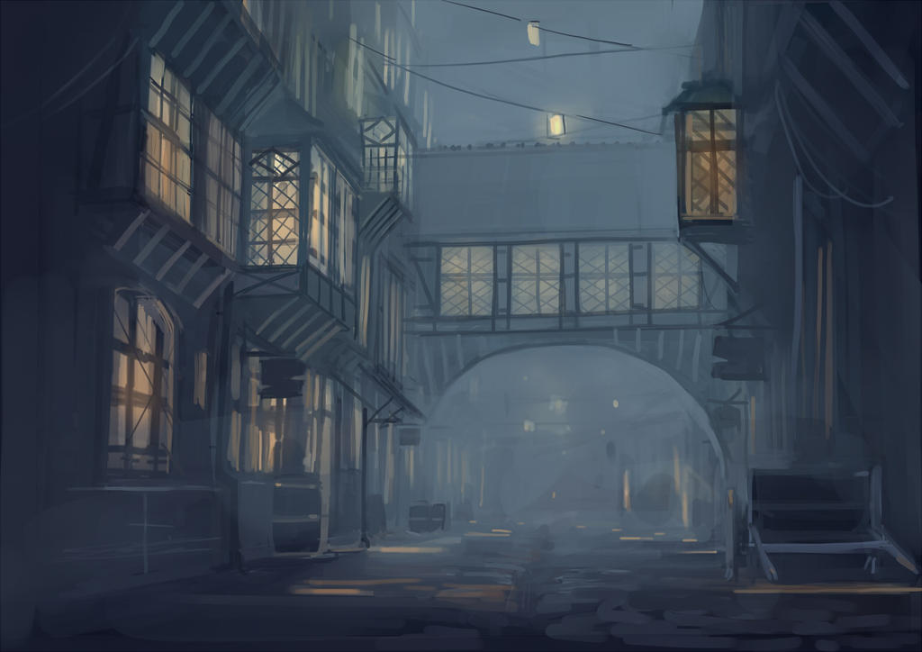 Middle ages city by guntama