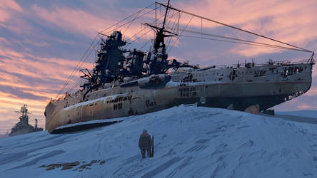 Ship's graveyard