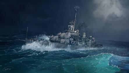 USS Fletcher (DD-445)
