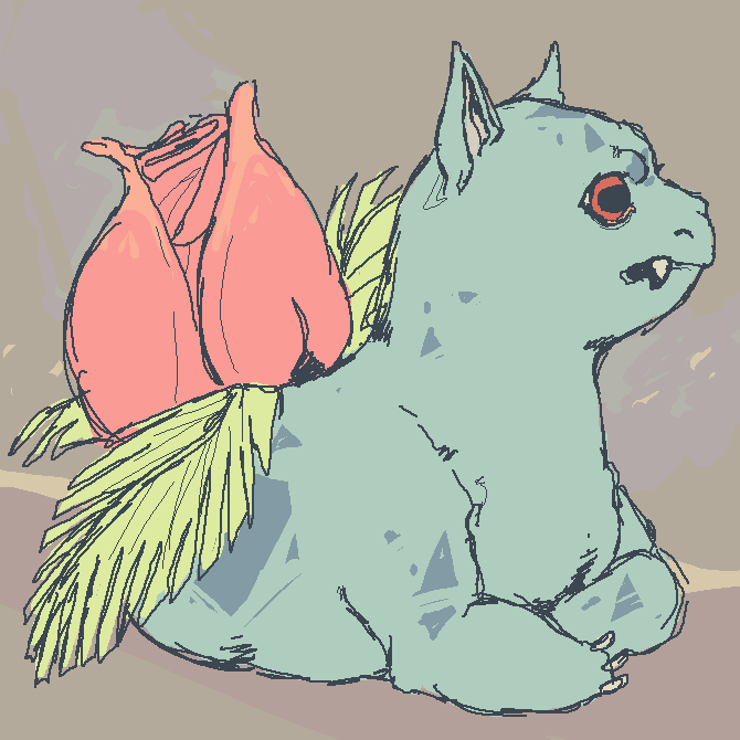 ivysaur by pokiesman
