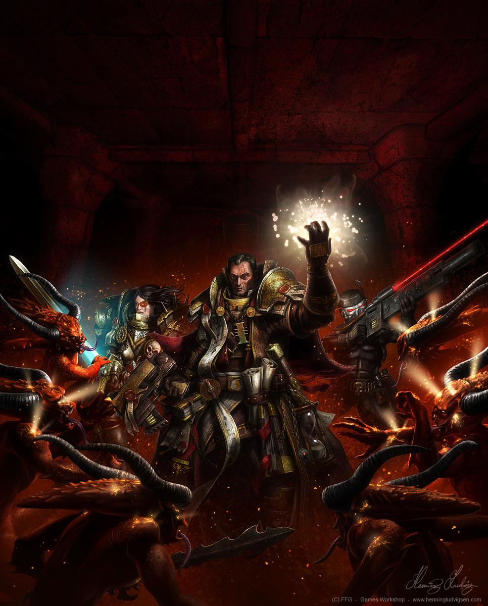 Warhammer 40K, Dark Heresy by henning