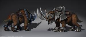 Battlehorn - Darkfall by henning