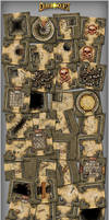 Dungeonquest board by henning