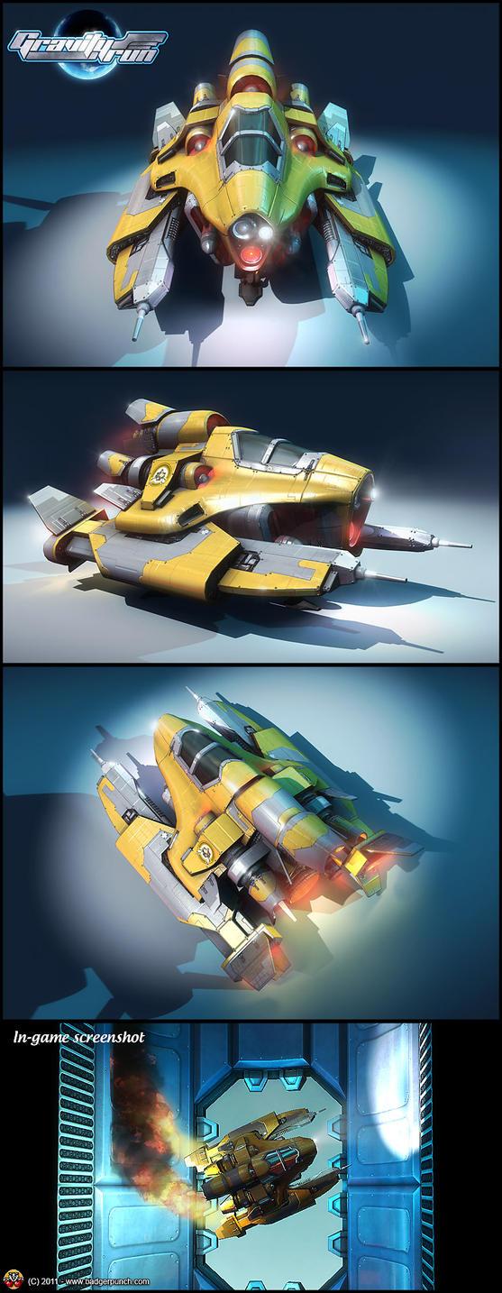 Gravity Run - C.R.I.C.K.E.T. by henning