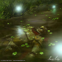 Lord of the Rings - The lights of the dead by henning