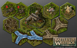 Battles of Westeros expansion, board game