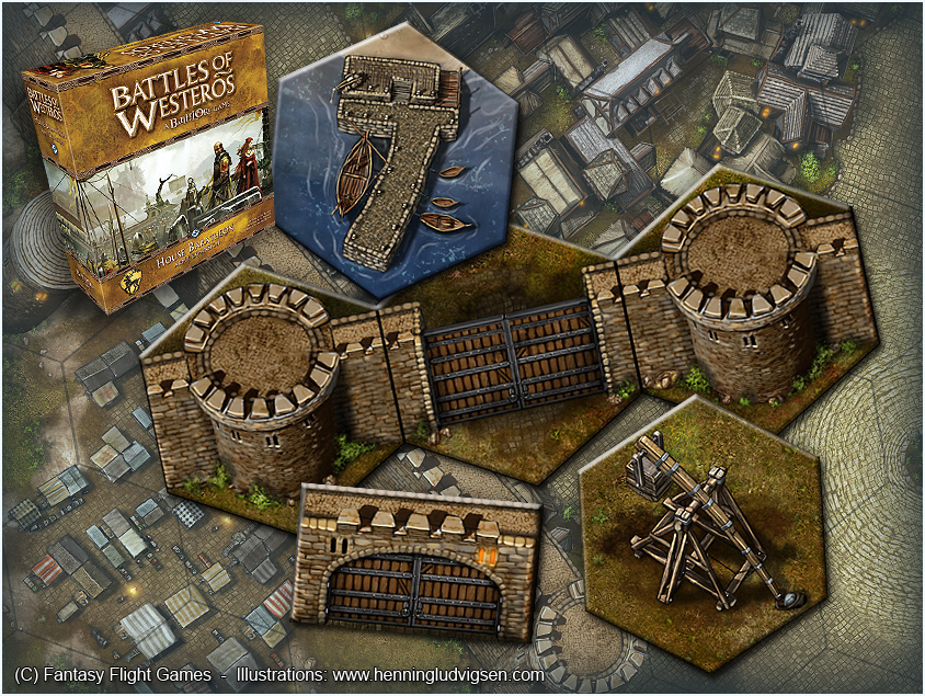 House of Baratheon army expansion, assets by henning