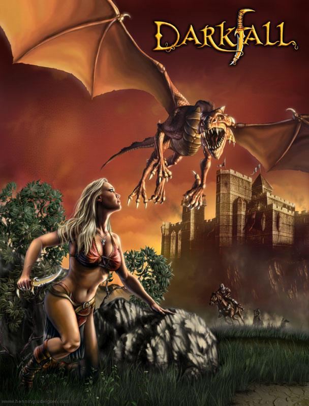 Darkfall cover by henning