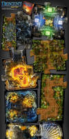 Descent 2nd edition - Lair of The Wyrm expansion