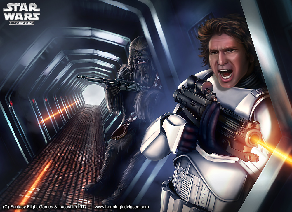 Star Wars - Escape attempt by henning
