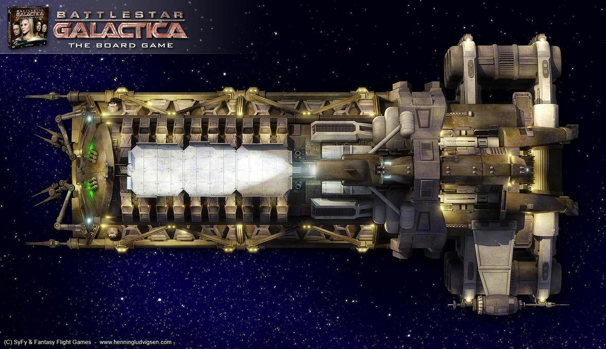 Battlestar Galactica - Demetrius by henning