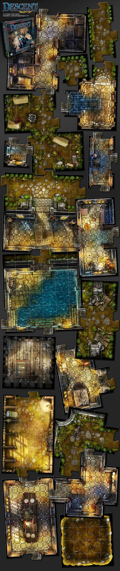 Descent, Manor Of Ravens expansion by henning