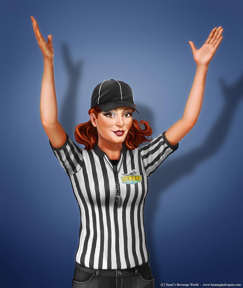 Hazel, Football Official by henning