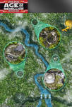 Star Wars, Age of Rebellion roleplaying game map 1