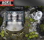 Star Wars, Age of Rebellion roleplaying game map 2