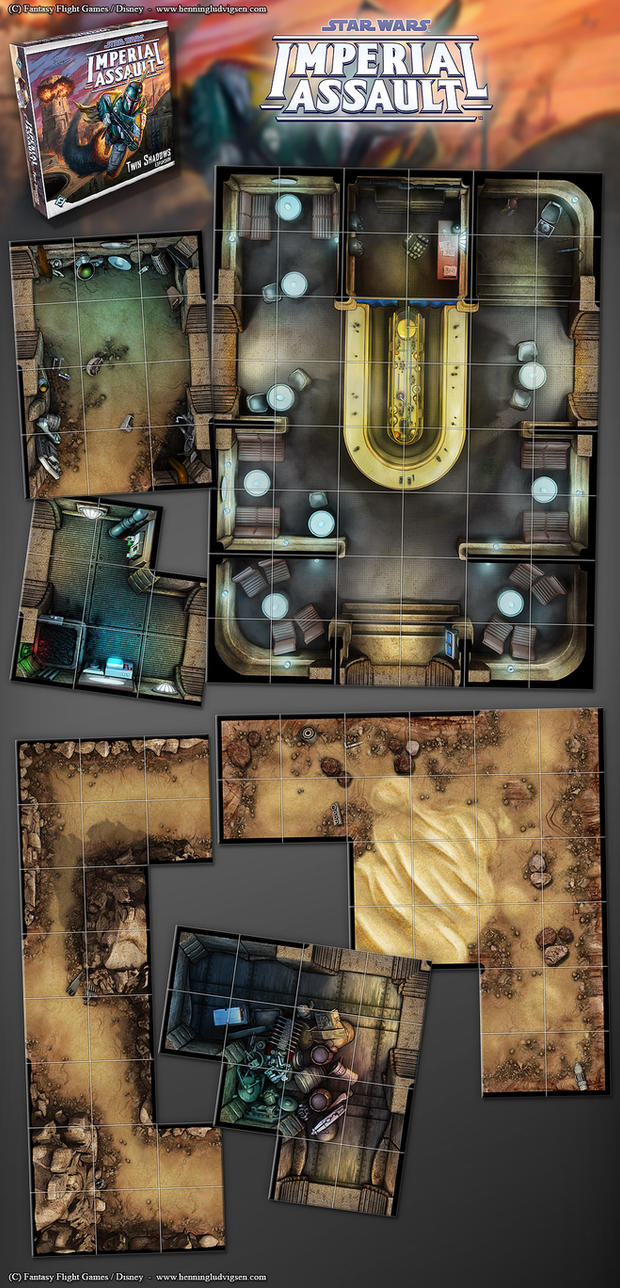 Star Wars - Imperial Assault - Twin Shadows 01 by henning