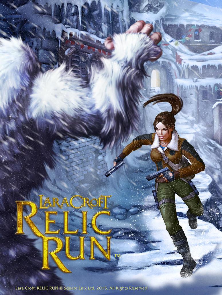 Lara Croft Keyart by henning