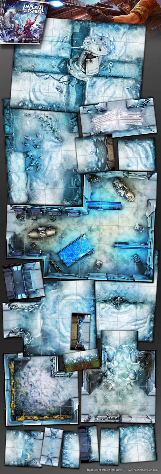 Star Wars, Imperial Assault, Return to Hoth 2