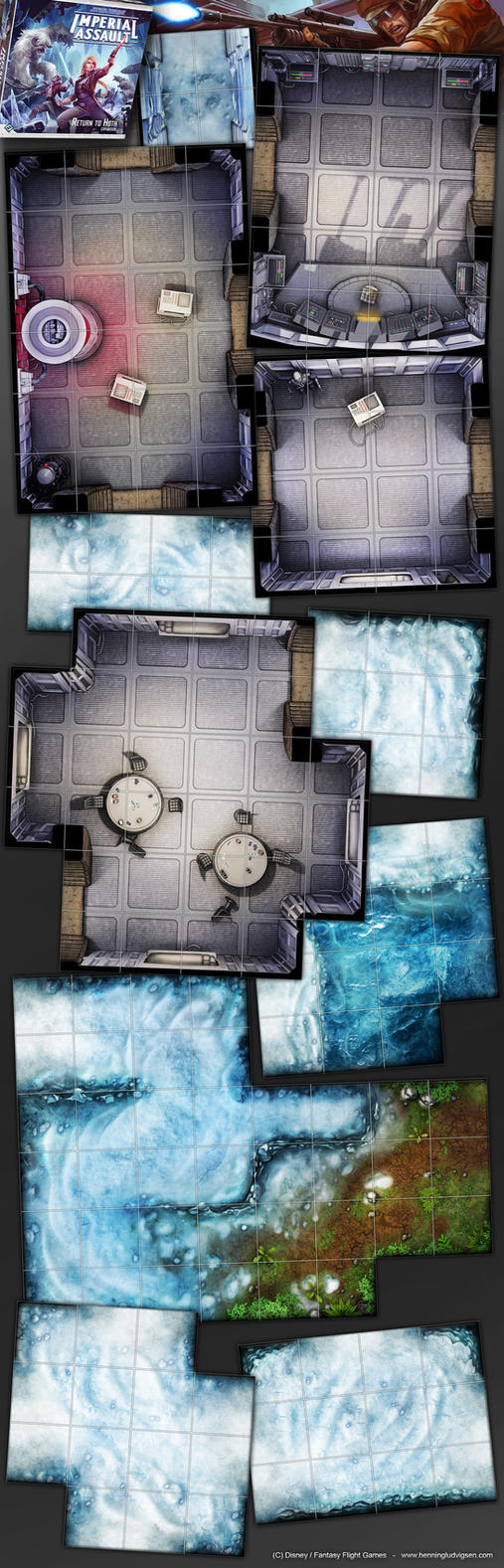 Star Wars, Imperial Assault, Return to Hoth 3 by henning