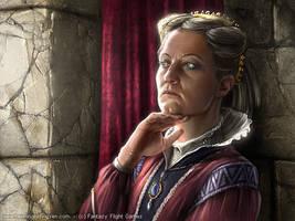 Alannis Greyjoy by henning