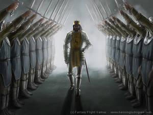 Kings honor guard