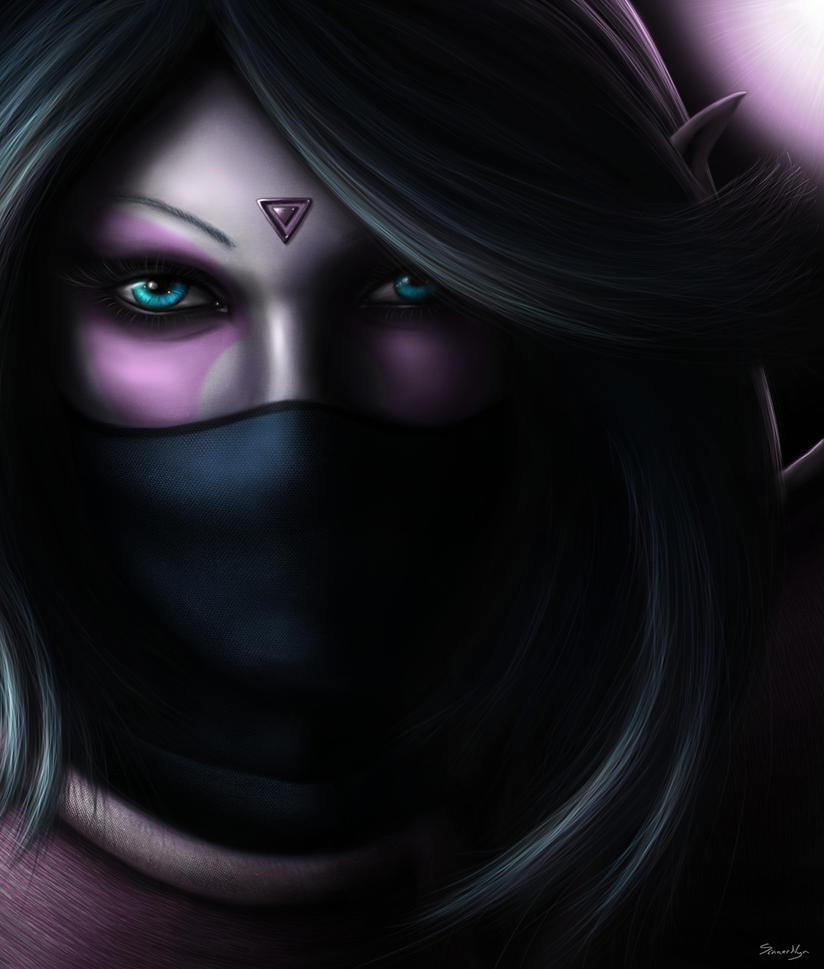 Lanaya, The Templar Assassin - Dota 2 by SinnerNym