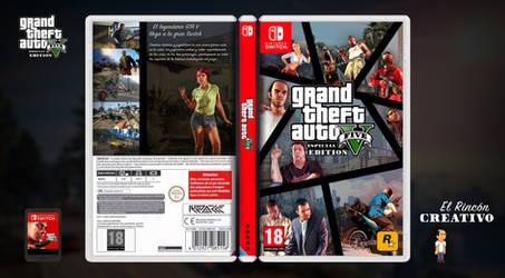 GTA V (Nintendo Switch Cover)