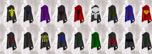 Assassin's Creed capes