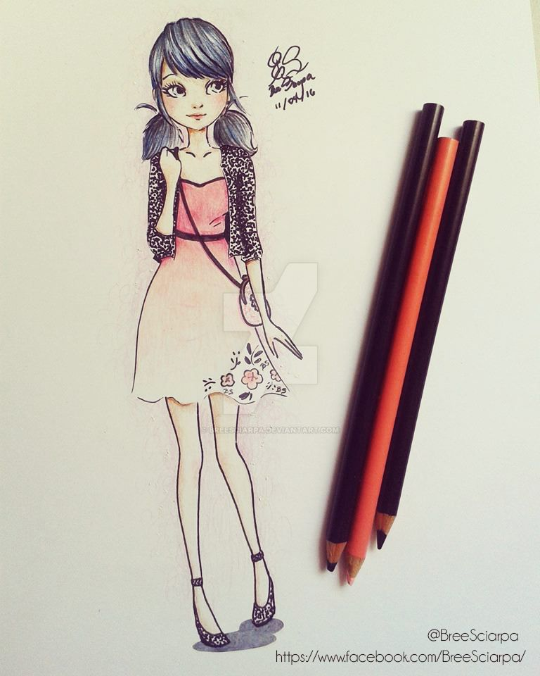Marinette Dupain Cheng by breesciarpa