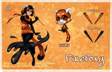 Miraculous Firefoxy by breesciarpa