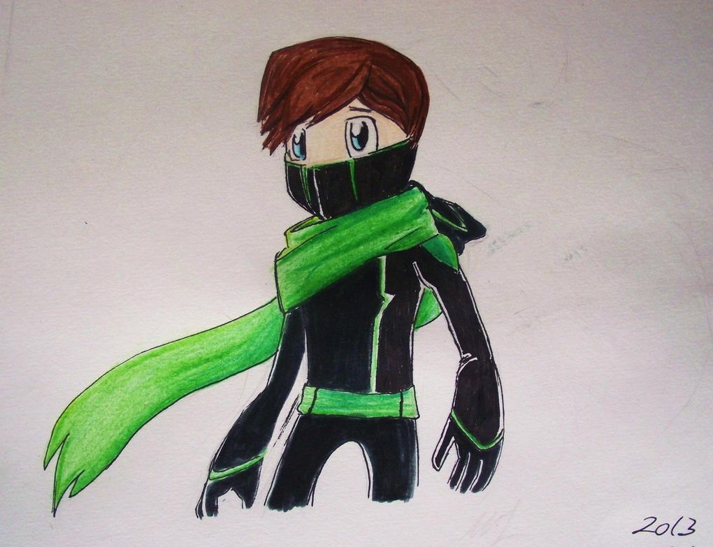 Ninja mask hoodie