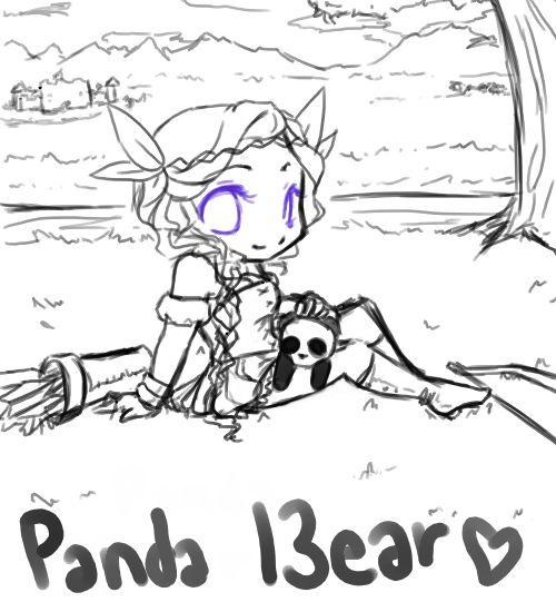 Panda l3ear by pic-a-day