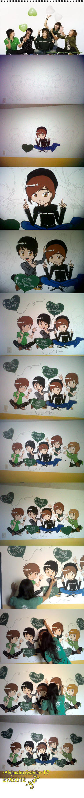 My SS501's Wall by yuisama