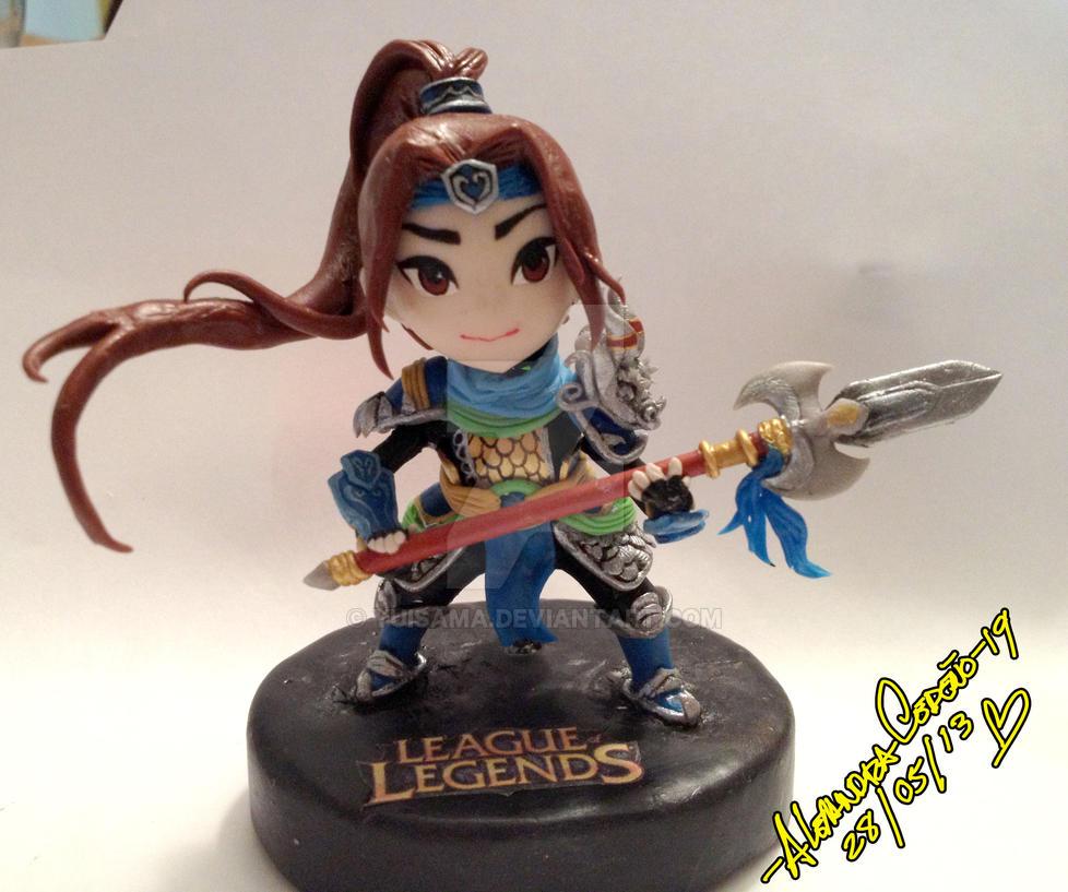League of Legend Xin Zhao by yuisama