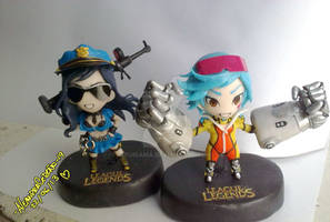 League of Legend Vi and Caitlyn